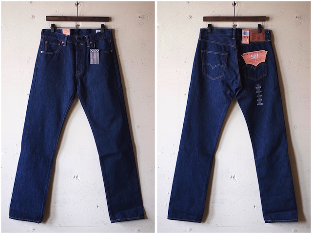 Levi's (リーバイス) 501 Rinse White Oak Denim Made in USA-4