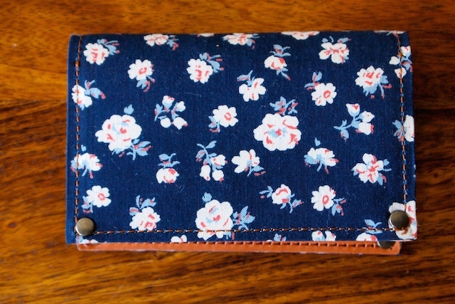 WORKERS Card Case, Floral