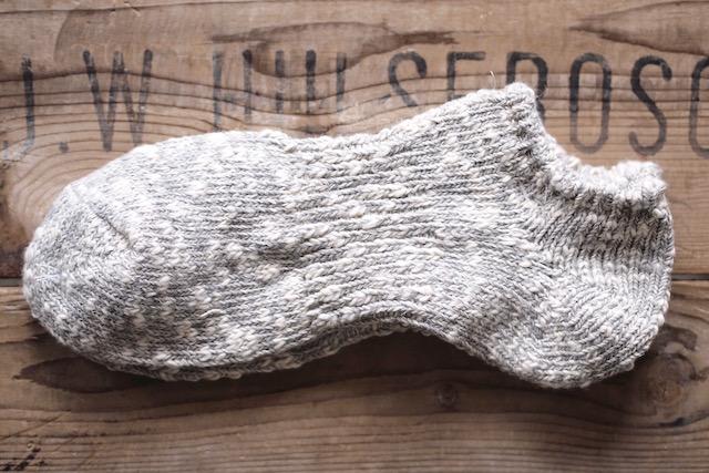 Mauna Kea Slub Nep Sneaker SOX-Grey