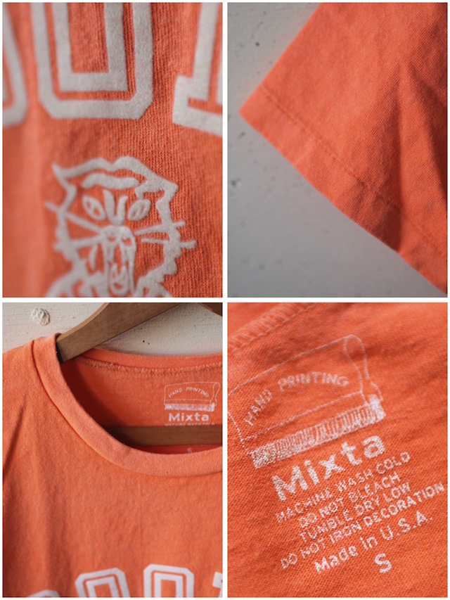 MIXTA(ミクスタ)Printed Tee Boody Tiger Sunrise-3