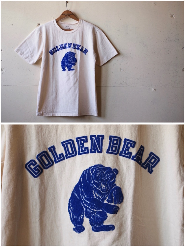 MIXTA(ミクスタ)Printed Tee Golden Bear Natural-2