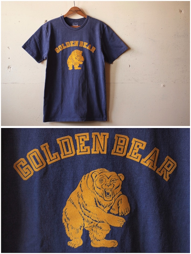 MIXTA(ミクスタ)Printed Tee Golden Bear Night Ocean-2