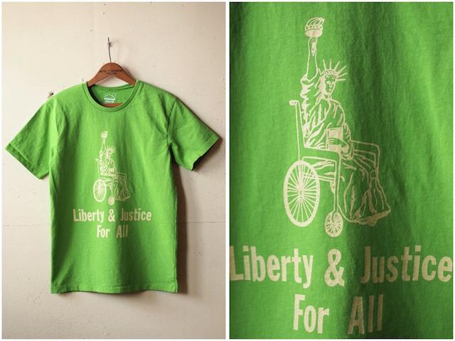 Mixta Printed Tee Liberty & Justice Pistachio-2