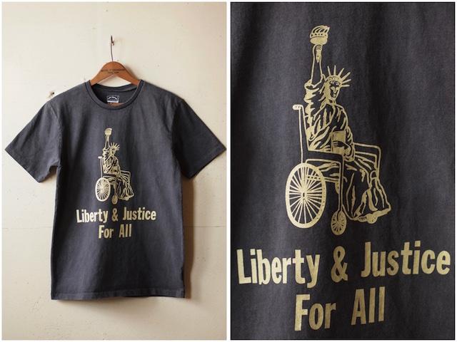 Mixta Printed Tee Liberty & Justice Vintage Black-2