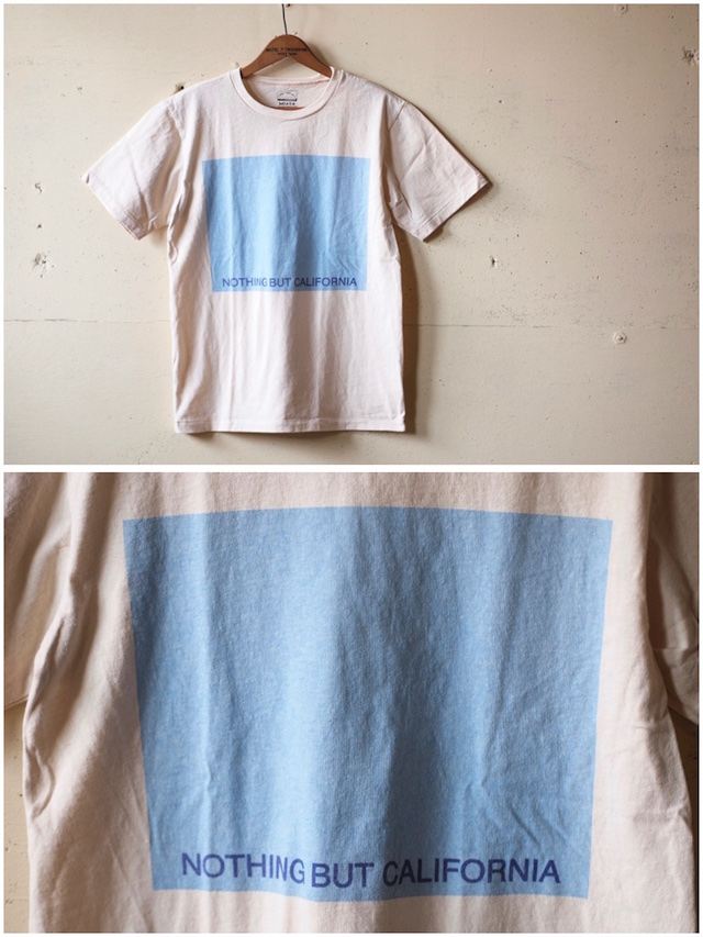 MIXTA(ミクスタ)Printed Tee NBC Natural-2