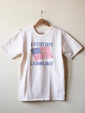Mixta (ミクスタ) Printed Tee No Work Natural-Link