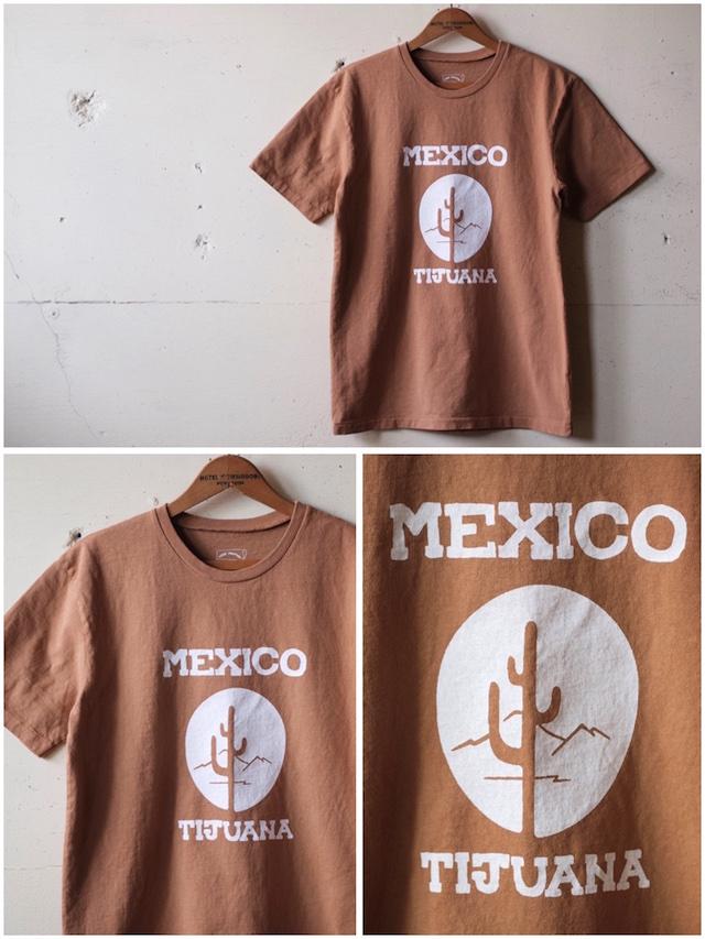 Mixta Printed Tee Tijuana 21 Camel-2