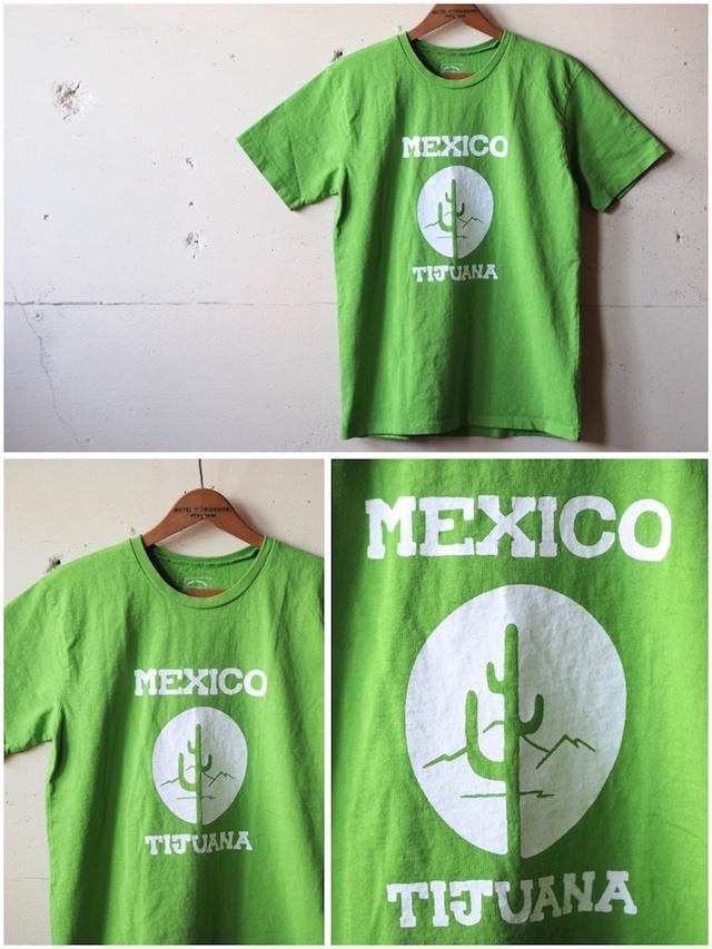 Mixta Printed Tee Tijuana 21 Pistachio-2