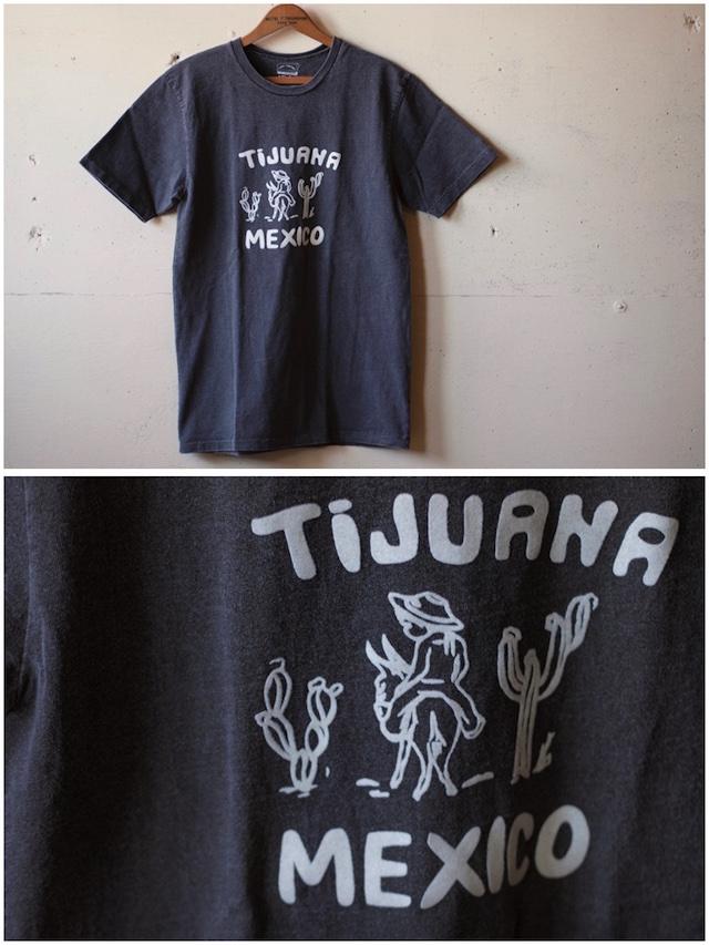 MIXTA(ミクスタ)Printed Tee Tijuana Mexico Vintage Black-2