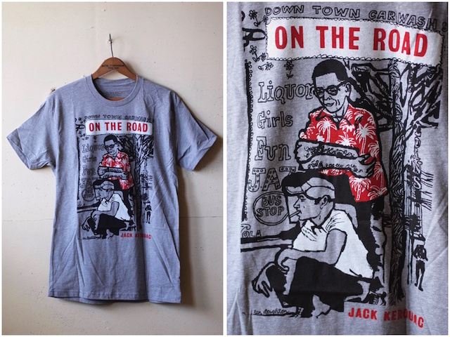 Out of Print T-Shirt On The Road