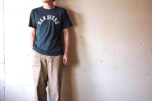 Pine Tree Co. T-Shirt San Diego, Dark Green-2