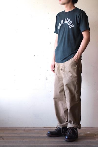 Pine Tree Co. T-Shirt San Diego, Dark Green-3