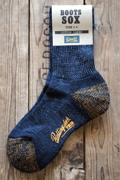 Rolling dub Trio Boots Sox Type02-Navy