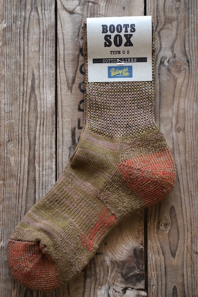 Rolling dub Trio Boots Sox Type02-Olive