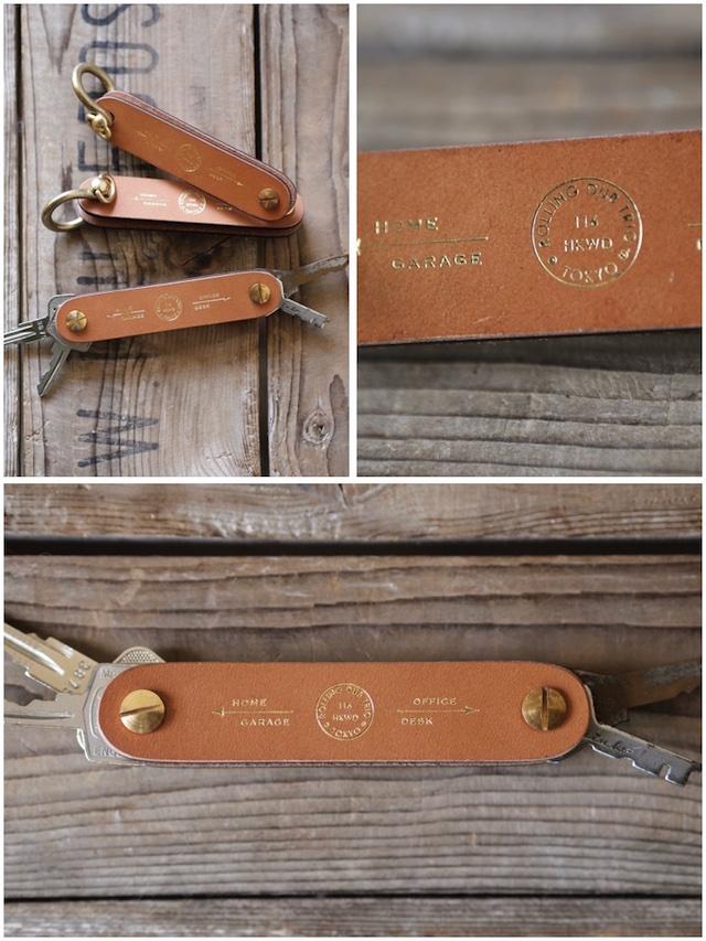 Rolling dub TRIO Tool Key Holder Oakbark-2