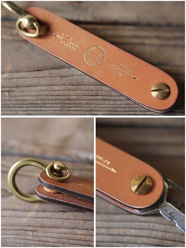 Rolling dub TRIO Tool Key Holder Oakbark-3