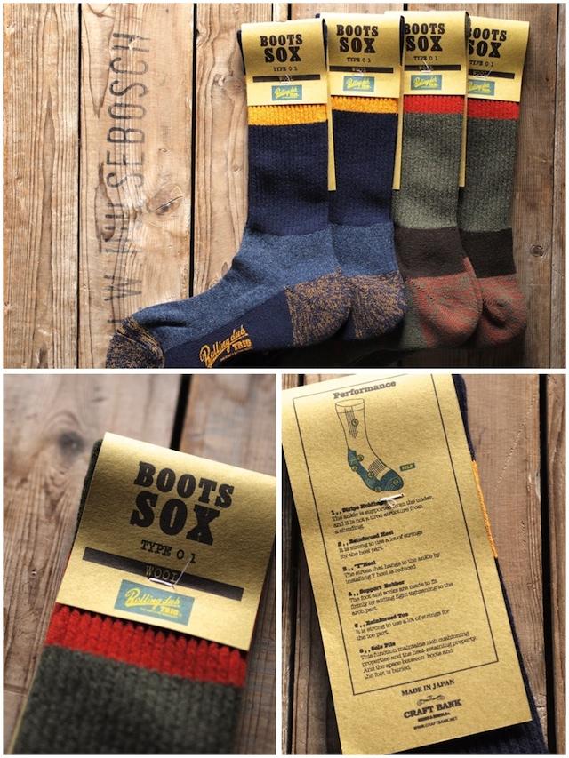 Rolling dub TRIO, Wool Boots Sox-2