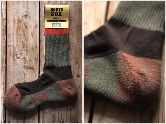 Rolling dub TRIO, Wool Boots Sox-4