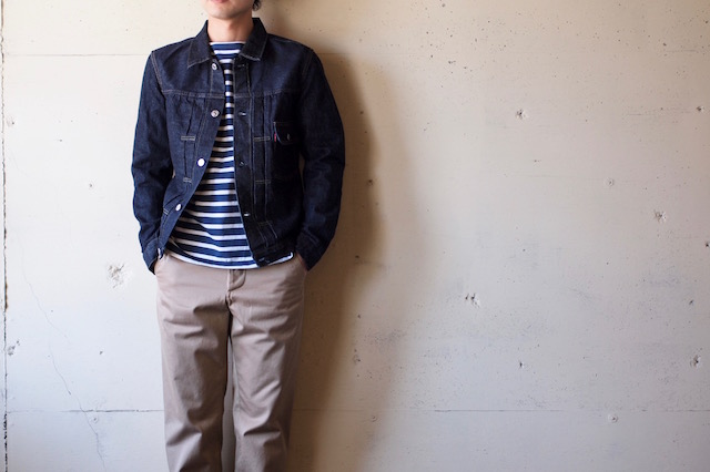 TCB jeans 30's JKT 1st Type 12.5oz Denim-2
