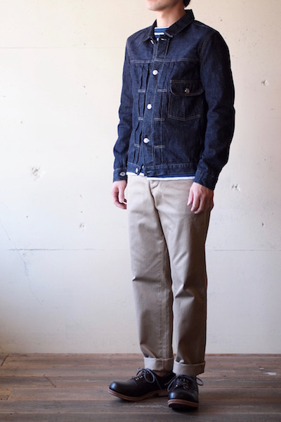TCB jeans 30's JKT 1st Type 12.5oz Denim-3