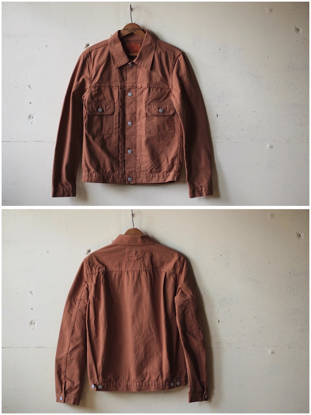 TCBjeans 50's JKT Zimbabwe Brown Duck-4