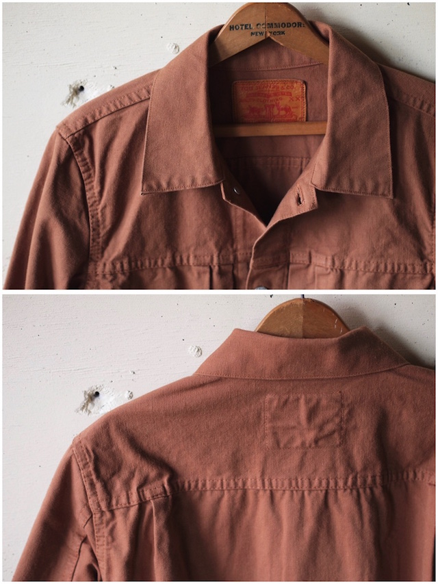 TCBjeans 50's JKT Zimbabwe Brown Duck-5
