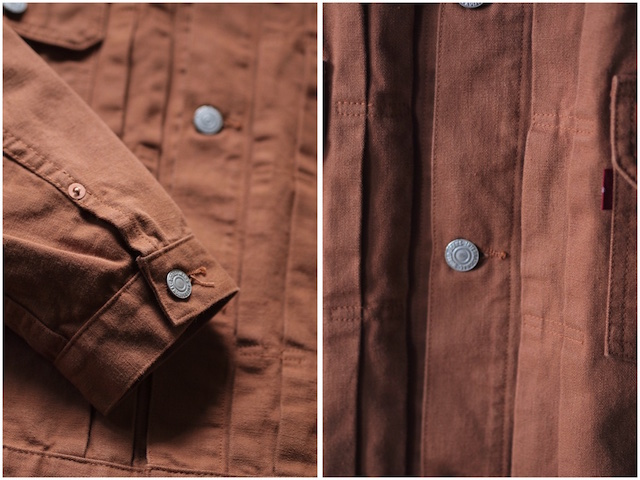 TCBjeans 50's JKT Zimbabwe Brown Duck-6