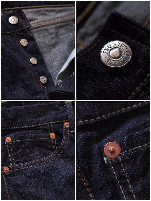 TCB jeans 50's Slim 13.5oz Denim-6