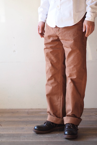 TCB jeans Carpenter Pants Brown Duck-3