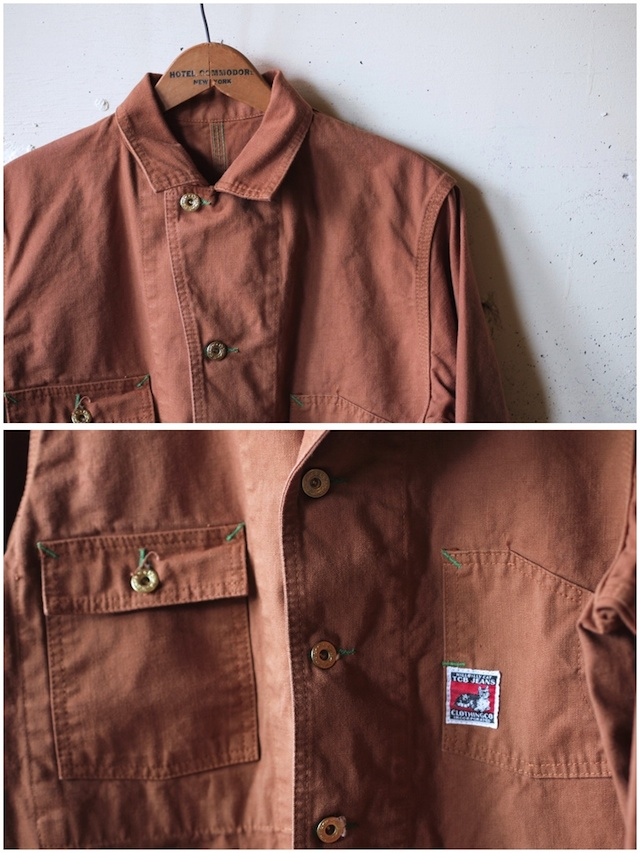TCBjeans Chore JKT, Brown Duck-5