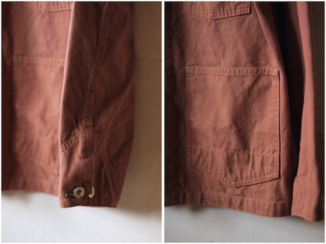 TCBjeans Chore JKT, Brown Duck-6