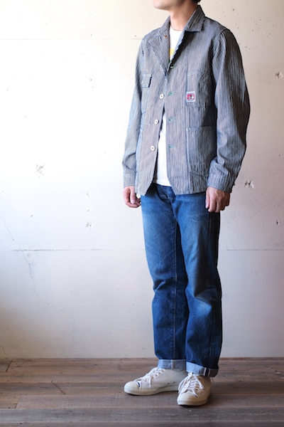 TCBjeans Chore JKT, Hickory-3