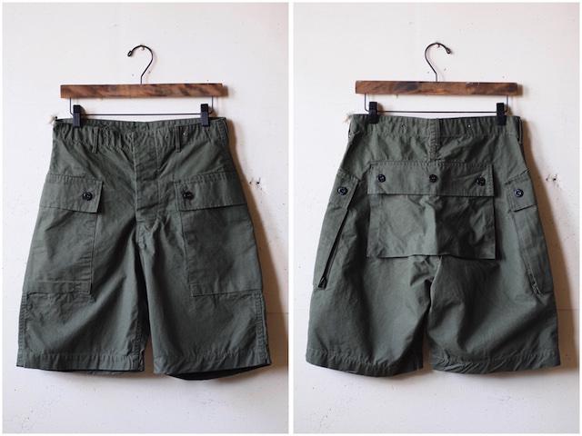 TCB jeans Crawling Shorts Rip Stop OD-2