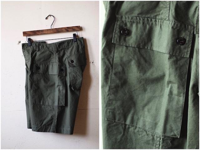 TCB jeans Crawling Shorts Rip Stop OD-3