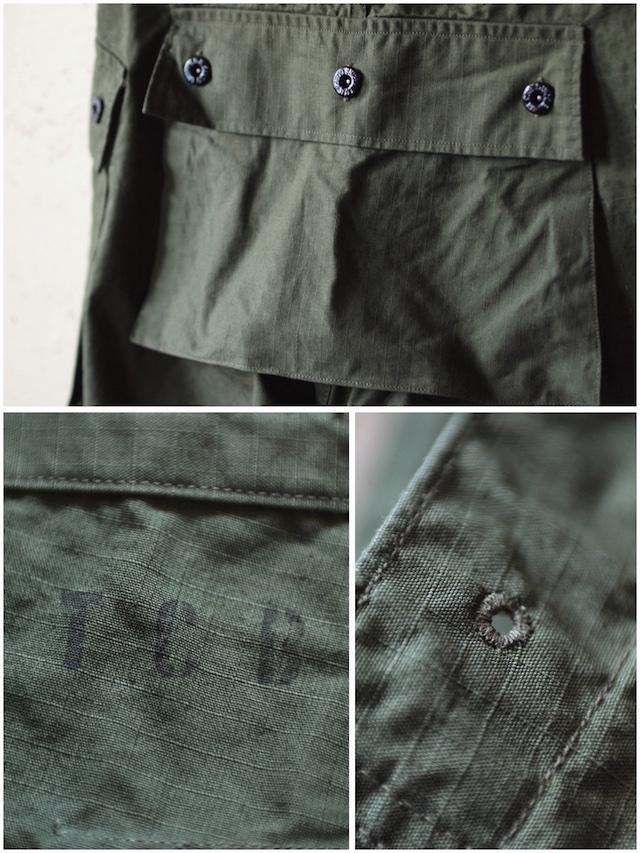 TCB jeans Crawling Shorts Rip Stop OD-4
