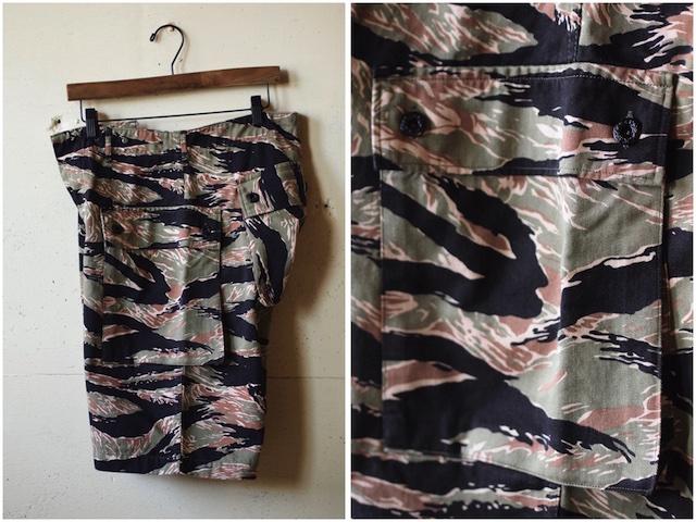 TCB jeans Crawling Shorts Tiger Camo-3