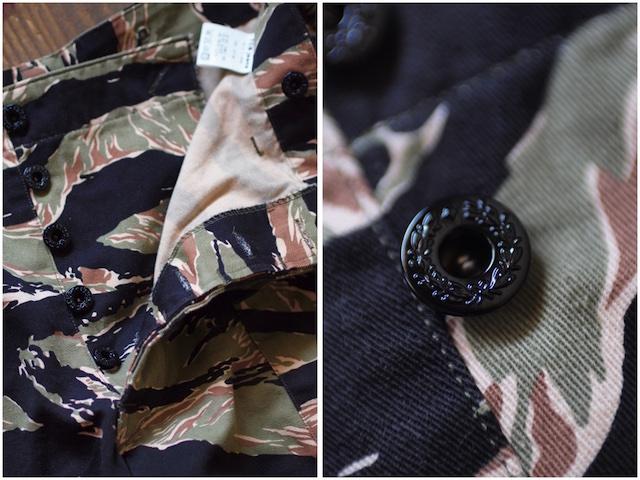 TCB jeans Crawling Shorts Tiger Camo-5
