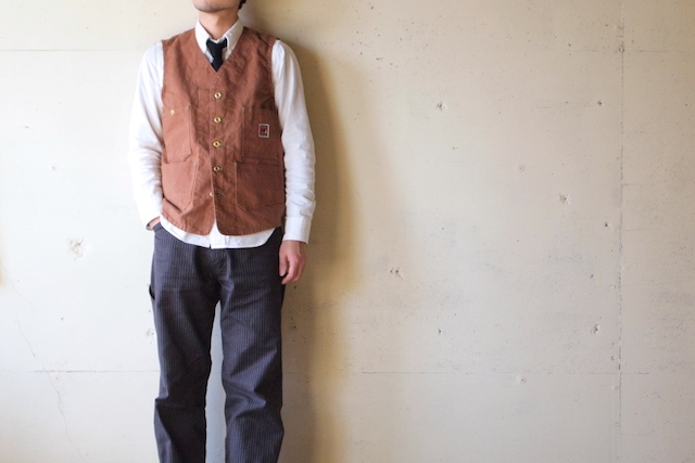 TCBjeans Foremen Vest, Brown Duck-2