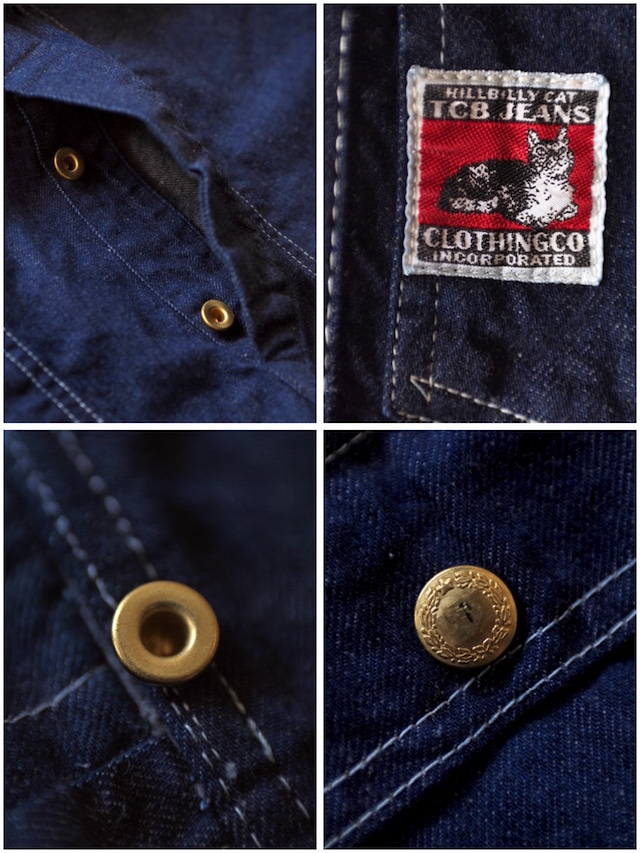 TCB jeans Handyman Pants, Denim-8