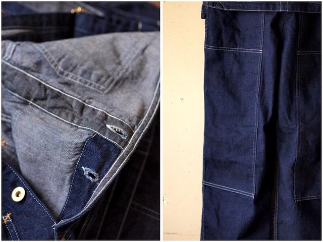 TCB jeans Handyman Pants, Denim-9