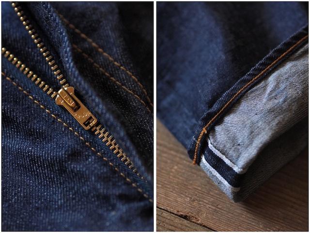 TCBjeans Pre-Shrunk Jeans, type 505-7