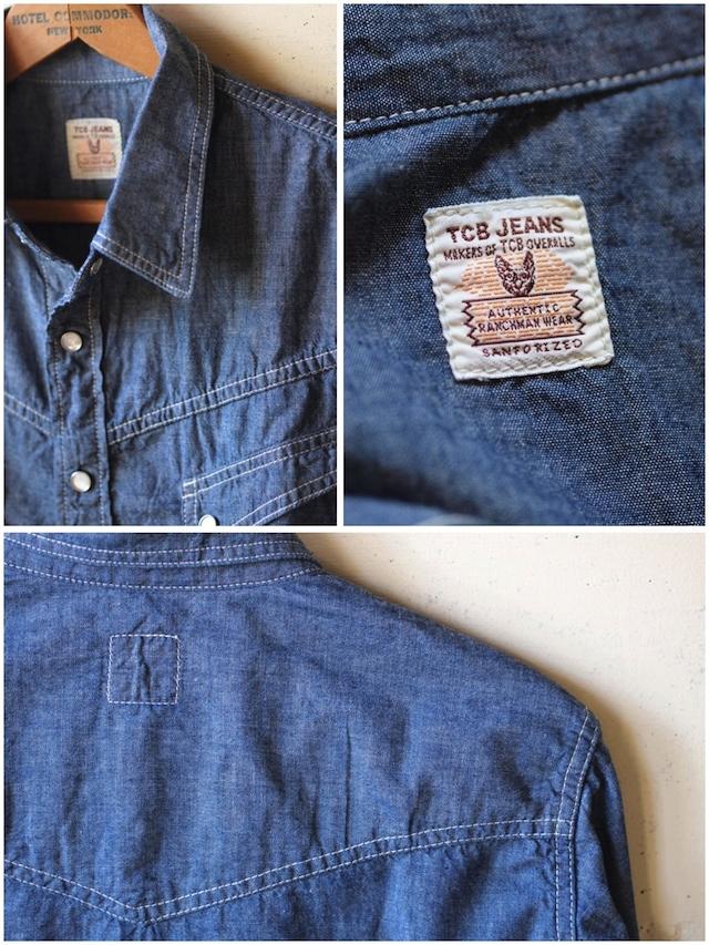 TCBjeans RANCHMAN Shirt, Chambray-5