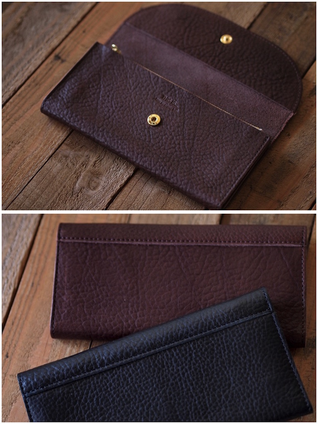 This is...(ディスイズ) Shrink Leather Long Wallet-4