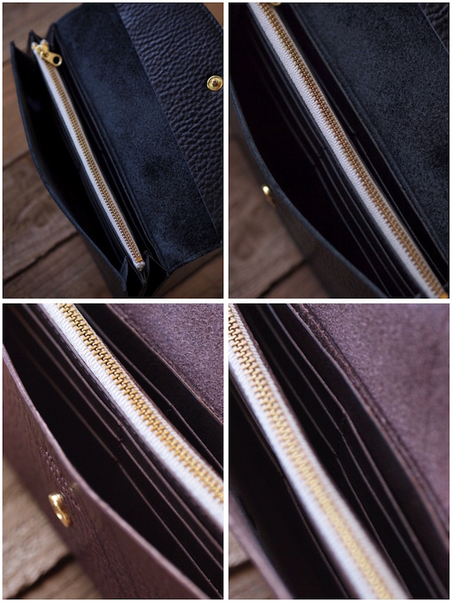 This is...(ディスイズ) Shrink Leather Long Wallet-5