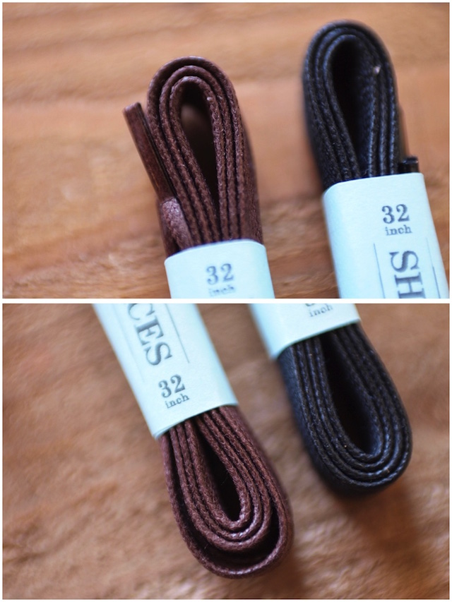 This is...(ディスイズ) Waxed Cotton Shoe Laces 32inch-3