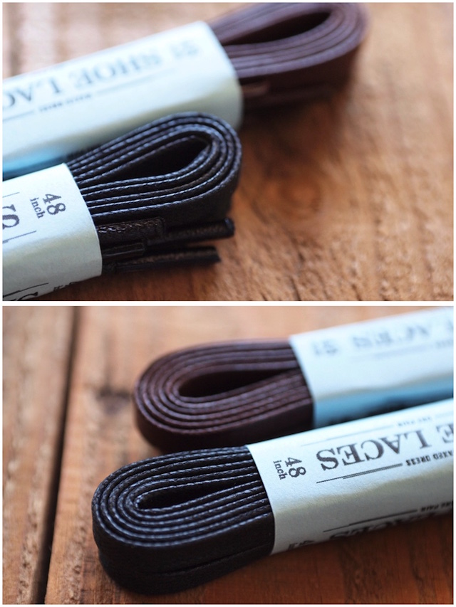 This is...(ディスイズ) Waxed Cotton Shoe Laces 48inch-4