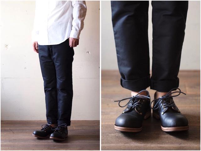 William Lennon Hill Shoes Cap Toe Black-2
