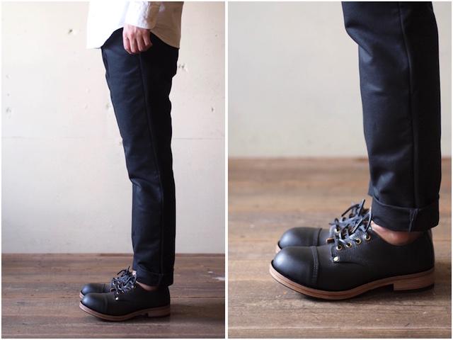 William Lennon Hill Shoes Cap Toe Black-3