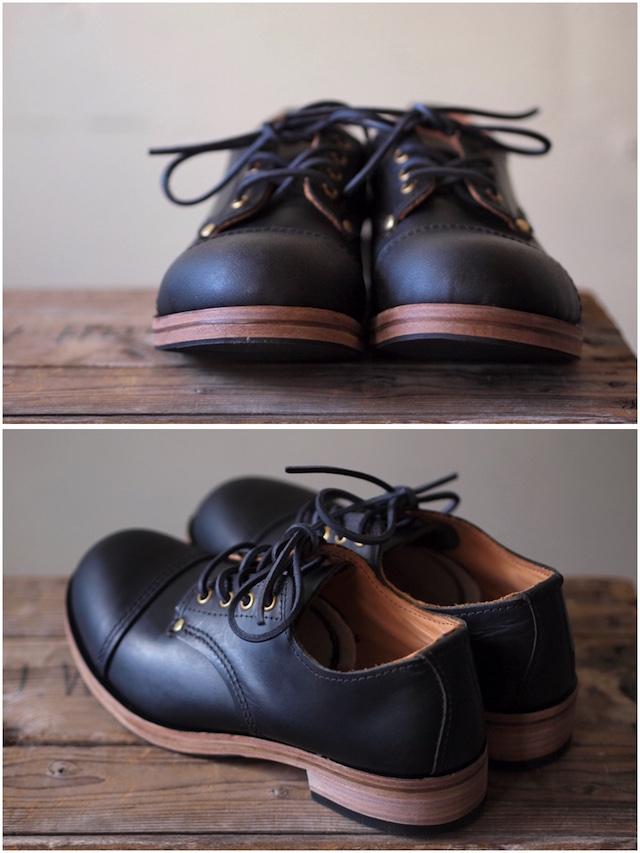 William Lennon Hill Shoes Cap Toe Black-5