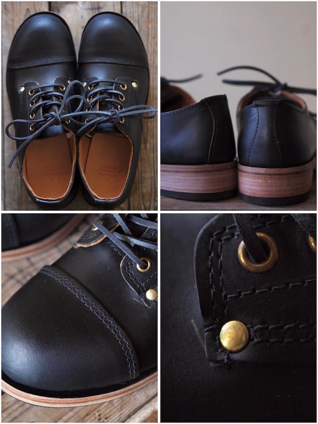 William Lennon Hill Shoes Cap Toe Black-6